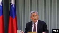 台湾外交部国际组织司司长徐佩勇(美国之音林枫拍摄)