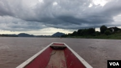 The biggest water diversion project on the Mekong and has prompted concern from environmentalists and experts. (Photo: Neou Vannarin/VOA Khmer)