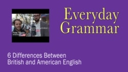 6 Differences between British and American English