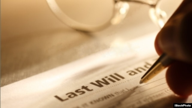 Don't wait until you're old to organize your will. Make sure your plans are squared away.