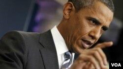 Barack Obama reiteró que no cree que las firmas petroleras deben seguir recibiendo recortes tributarios.