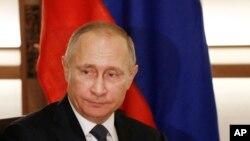 15일 일본을 방문한 블라디미르 푸틴 러시아 대통령.