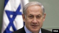 PM Israel Benjamin Netanyahu melakukan wawancara yang langka dengan jaringan TV Arab 'Al-Arabiya' (21/7).