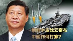 时事大家谈:朝鲜半岛战云密布,中国作何打算?
