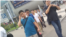 2017年8月14日上午,天津二中院附近的便衣。(美国之音记者叶兵拍摄)