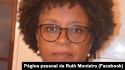 Ruth Monteiro, advogada e antiga ministra da Justiça