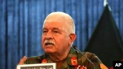 جنرال وزیري د سه شنبې په ورځ کابل کې خبریالانو ته وویل چې افغان ځواکونه تر ۸۵ فیصدو پورې اکمال شوي دي.