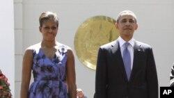 Le couple presidential américain