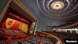 北京人民大會堂。