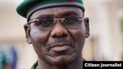 Le général Tukur Yusuf Buratai, chef d'état-major des armées du Nigéria.