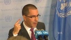 Canciller de Venezuela acusa al capitalismo de tener al mundo al borde del colapso