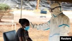 Uhlolwa igcikwane le coronavirus