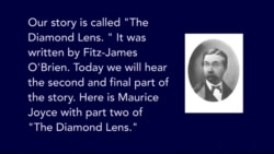 The Diamond Lens by Fitz-James O'Brien Part 2