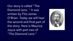 The Diamond Lens by Fitz-James O'Brien Part 2