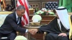 ایران و خاور میانه محور اصلی گفتگوهای سران آمریکا و عربستان