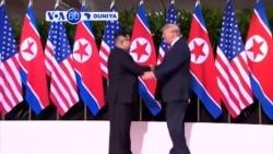 VOA60 DUNIYA: Shugaba Trump Ya Ce Yanzu Koriya ta Arewa Ba Barazana Ba Ce Ba ga Amurka