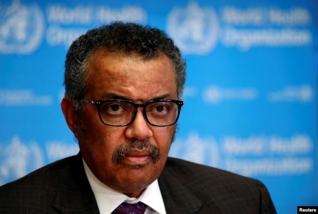 Dünya Sağlık Örgütü Başkanı Tedros Adhanom Ghebreyesus