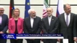 Sapa Dunia VOA: Presiden Trump Pertimbangkan Strategi Iran Lebih Tegas