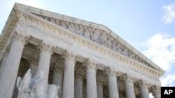 Gedung Mahkamah Agung AS di Washington DC.
