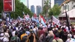 印尼上千穆斯林中國使館前抗議中國打壓維吾爾人