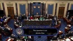 US Senate Acquits Trump of Inciting January 6 Capitol Riot