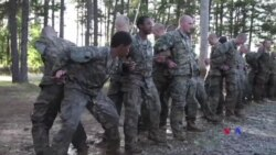 Mulheres Rangers no Exército Americano