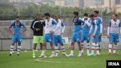 عکس آرشیوی از تمرین تیم ملی فوتبال ایران