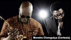 Manu Dibango e Moreira Chonguiça