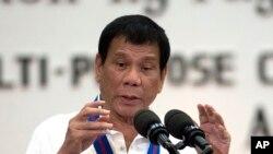 Presiden Filipina Rodrigo Duterte (Foto: dok.)