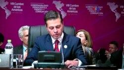 México condena uso de armas químicas