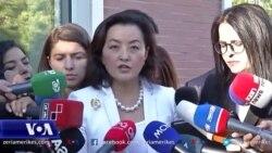 Tiranë: Ambasadorja amerikane, Yuri Kim, takon kryetarin e Partisë Demokratike