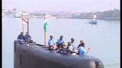 印度一艘潛艇爆炸起火造成人員傷亡
