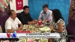 AQSh-O'zbekiston: Jurnalistik tajriba