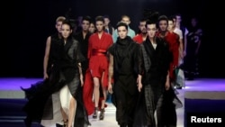 REUTERS China Fashion Week in Beijing, China