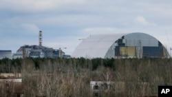 """Lokasi bekas pembangkir nuklir Chernobyl yang kini menjadi """"kota hantu"""" di dekat kota Prypyat, Ukraina (foto: dok)."""