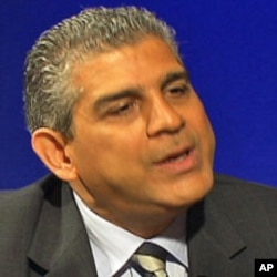 Maen Rashid Areikat, Chief Representative of the Palestine Liberation Organization (PLO) Mission to the United States, interviewed at VOA headquarters, Washington, D.C., 14 Oct 2010