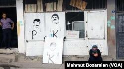 Cizre , kurdsko podrucje na jugoistoku Turske