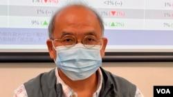 香港民意研究所副行政總裁鍾劍華表示,兩成港人有意移民數字不算低,換算超過100萬人,亦會造成人才大幅流失 (美國之音/湯惠芸)