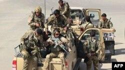 نیروهای ویژۀ افغان به تاریخ ۲۹ سپتامبر، پس از سقوط شهر کندز به دست طالبان، برای سرکوب مخالفان وارد آن شهر شدند.