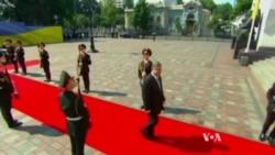 Poroshenko Assumes Presidency of Conflict-Torn Ukraine