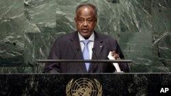 Le président djiboutien sortant Omar Guelleh