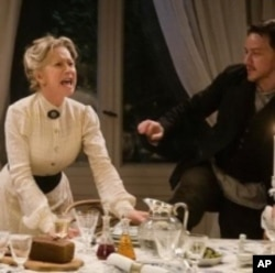 """Helen Mirren wins the Best Actress 50 and over Award for her performance as Sofya Tolstoy in """"The Last Station""""."""
