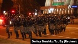 Минск, Беларусь. 9 августа 2020 г