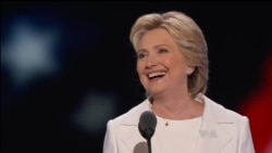 希拉里·克林顿在民主党大会发表接受提名演说(同声传译)