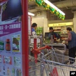同類商店的統計顯示,北京和上海的豬肉和蘋果價格高於香港