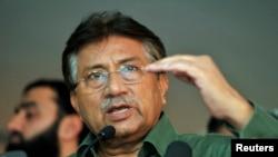 Cựu Tổng thống Pervez Musharraf.