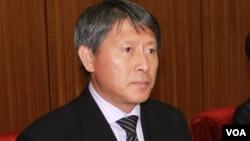 북한의 리용선 조선올림픽위원회 부위원장. (자료사진)