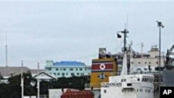 2009년 7월 버마 항구에 정박한 북한 화물선 (자료사진)