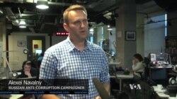 Russian Anti-Corruption Campaigner Slams Putin's Crackdown on Dissent