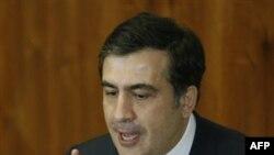 Президент Грузии Михаил Саакашвили. Тбилиси. 26 февраля 2010 года